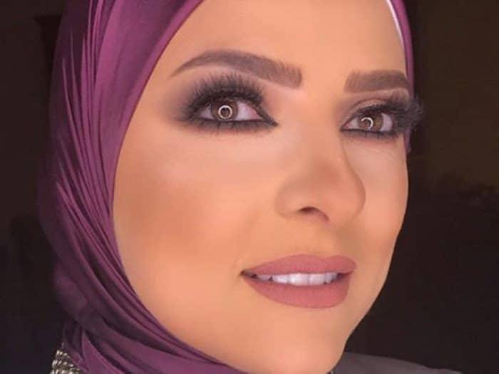 دعاء فاروق تعلق بعد قرار منع ظهورها اعلاميا