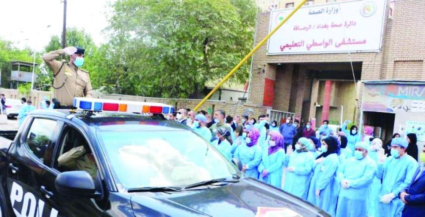 موجة جديدة لكورونا تسحق النظام الصحي في العراق.. تقرير