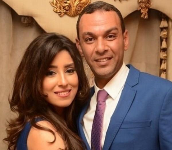 ايتن عامر وزوجها يحتفلان بمرور 5 سنوات على زواجهم