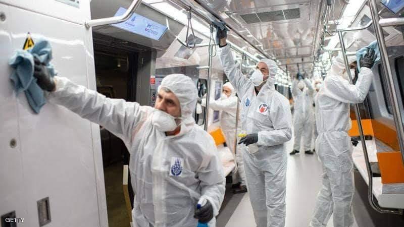 خروج متعافين من فيروس كورونا بمستشفى الدعاة
