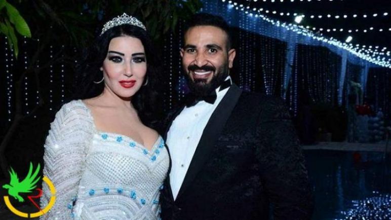 احمد سعد يتهم سمية الخشاب بسرقته