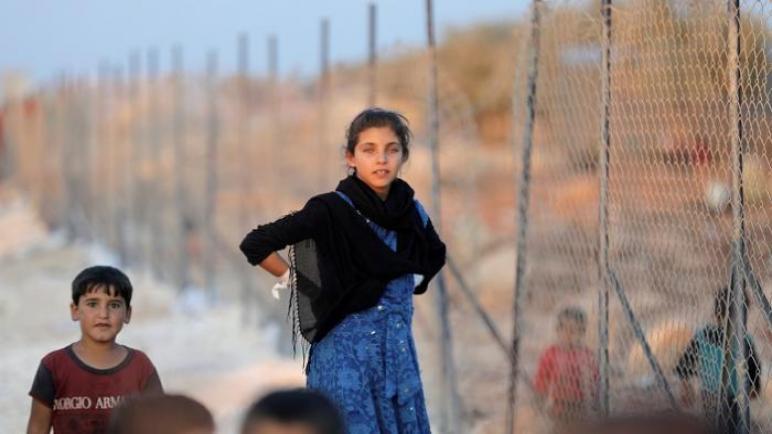 عشرات آلاف النازحين شمال شرقي سوريا