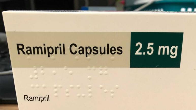 أقراص راميبريل Ramipril لعلاج ارتفاع ضغط الدم