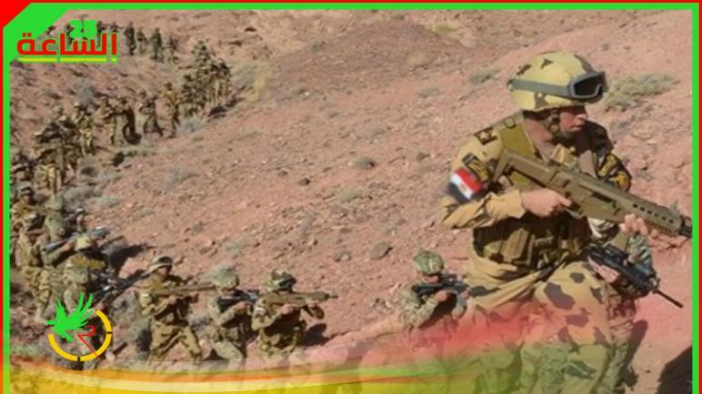 مقتل إرهابيين في شمال سيناء المصرية