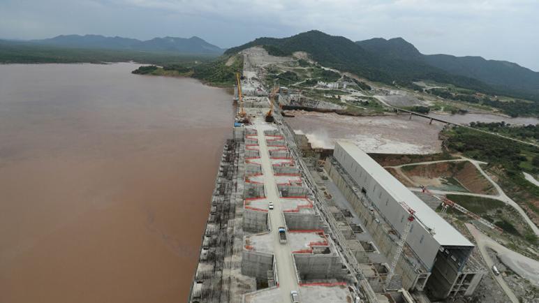 استكمال بناء سد النهضة بنسبة 73 بالمائة