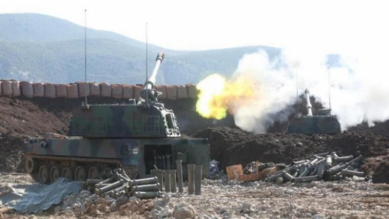الجيش التركي يقصف قوات الأسد ويجبرها على الانسحاب