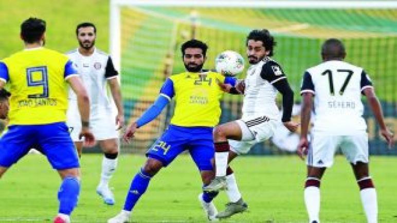 الظفرة يطيح بالجزيرة من كأس الإمارات ويتأهل لنصف النهائي