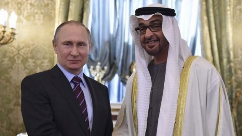 بدء المفاوضات بين بوتين وبن زايد