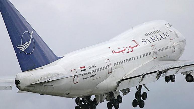 بعد 8 سنوات ..انطلاق أول رحلة جوية من دمشق إلى حلب