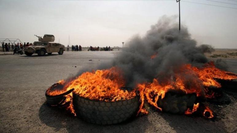 بدء اعتصام ضد الحكومة في جنوب العراق