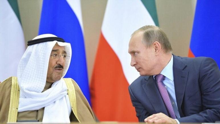 أمير الكويت يهنئ بوتين بعيد ميلاده