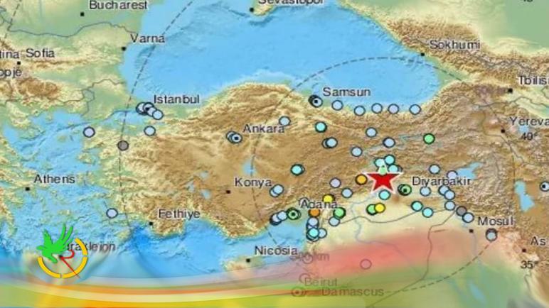 زلزال شرق تركيا قبل قليل