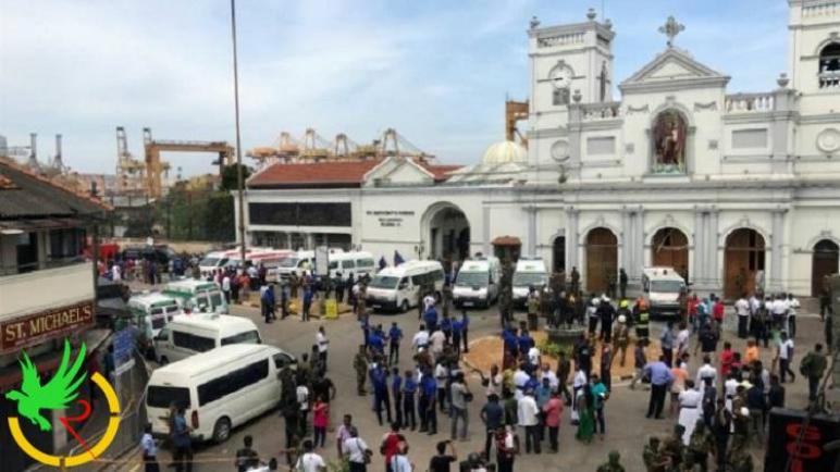داعش يعلن مسؤوليته عن حادث سريلانكا