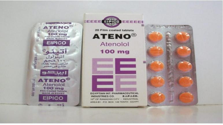 دواء أتينو Ateno لعلاج ارتفاع ضغط الدم
