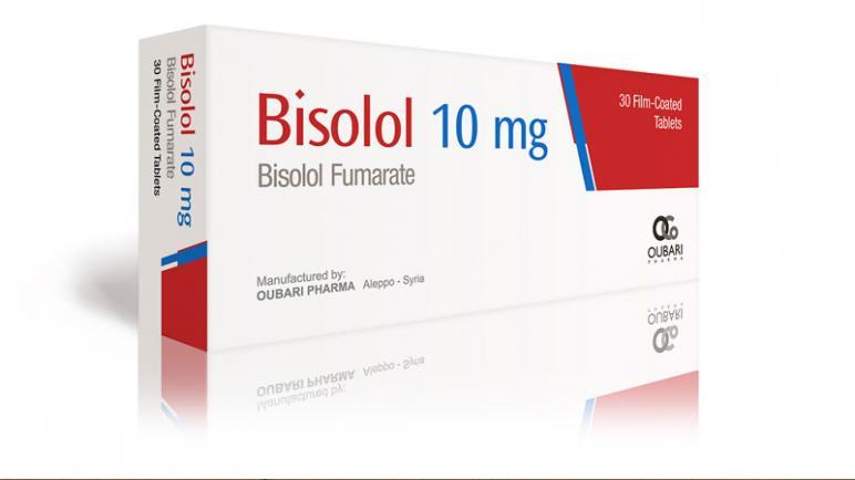 دواء بيسوبرولول Bisoprolol لعلاج ارتفاع ضغط الدم