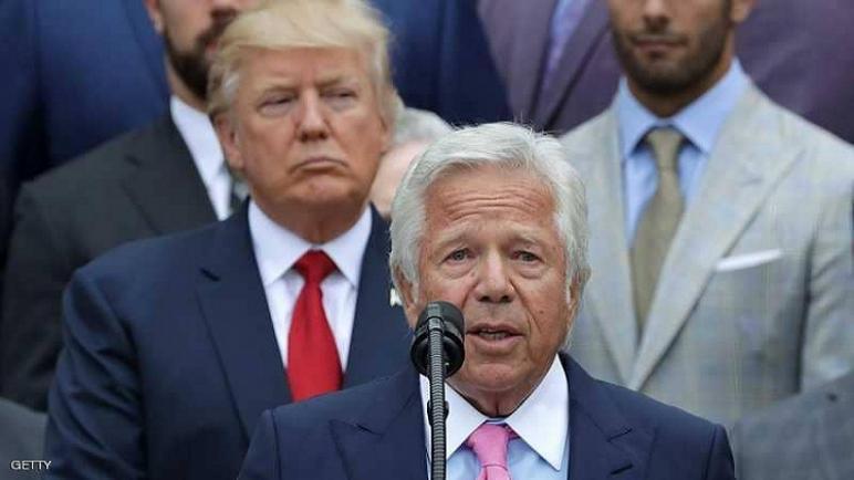 فضيحة جنسية جديدة روبرت كرافت صديق ترامب تهز كرة القدم الامريكية
