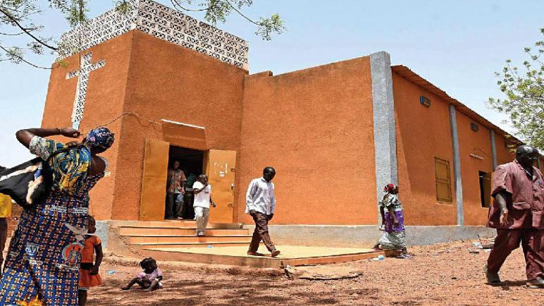 هجوم إرهابي على كنيسة في بوركينا فاسو