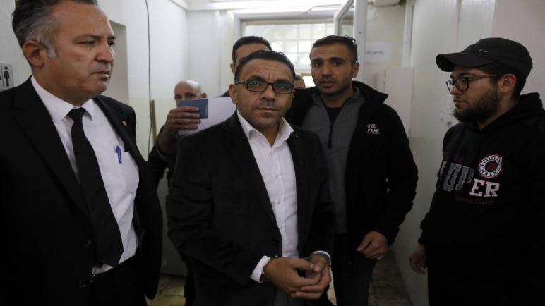 محافظة القدس يتعرض للإبعاد من الضفة