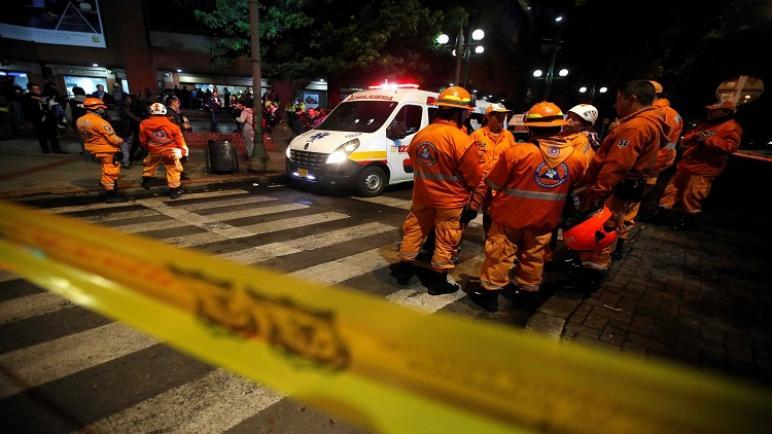 مقتل 3 ضباط كولومبيين في انفجار