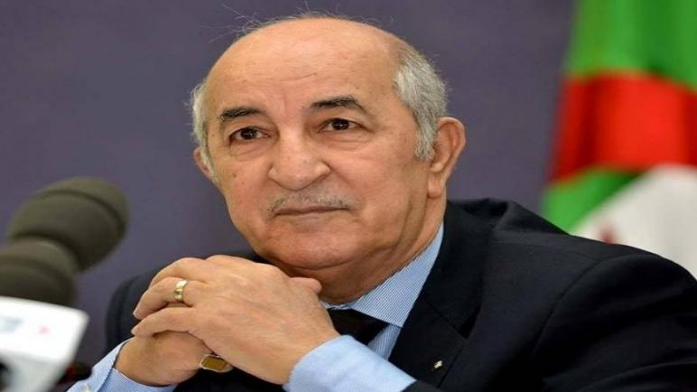 تبون يستقبل رئيس هيئة الانتخابات الجزائري