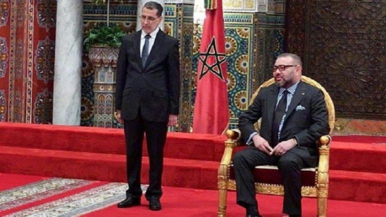 الملك محمد السادس يستقبل حكومة سعد الدين العثماني الجديدة