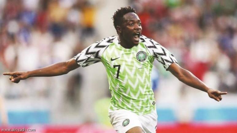 أحمد موسى : الفتى الذهبي لنيجيريا والنصر !