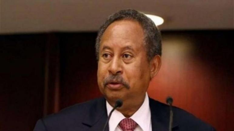 رئيس الحكومة السودانية يؤكد سعيه للسلام