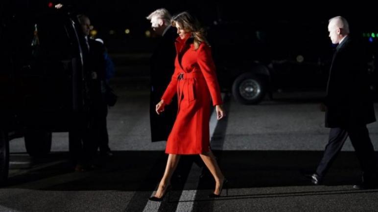 الرئيس الامريكى يصل لندن لحضور قمة حلف الاطلسي
