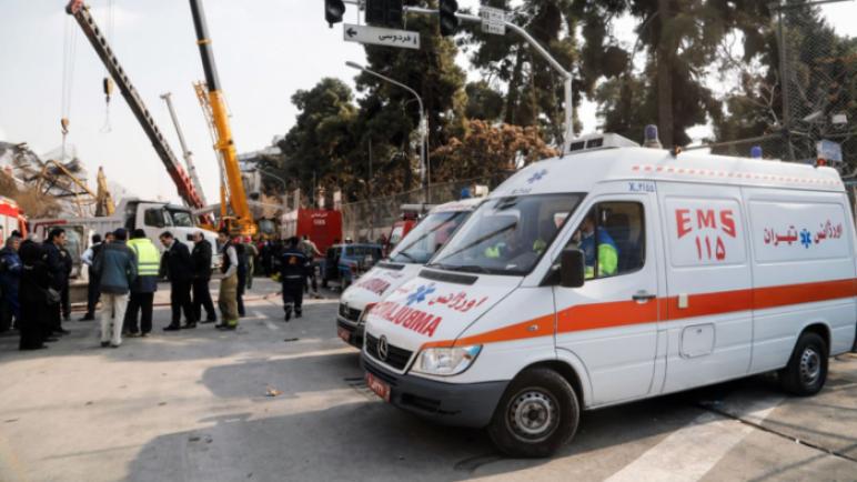 مصرع واصابات اثر انفجار بقاعة زفاف فى ايران