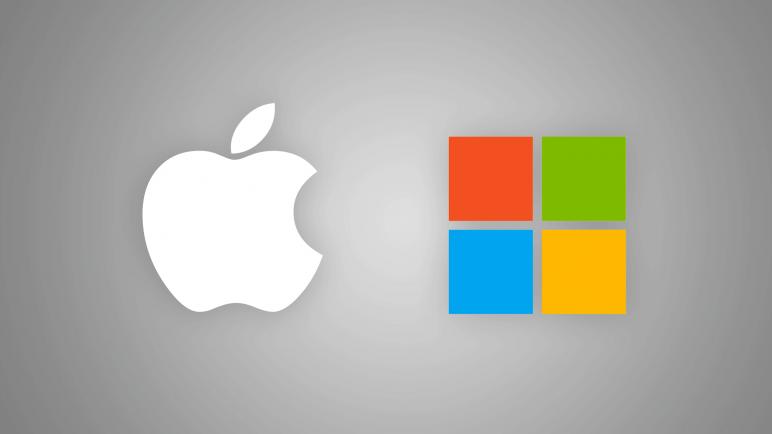 لماذا شركة مايكروسوفت لديها جهاز ماكنتوش في مقرها الرئيسي؟