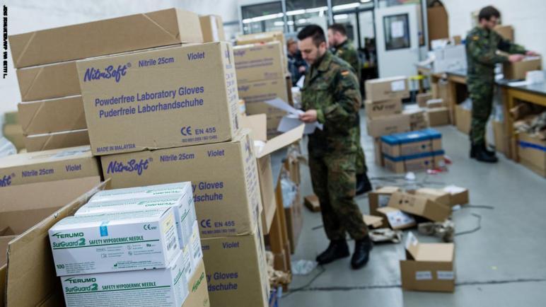 ألمانيا تنشر جنود الجيش للسيطرة على تفشي كورونا