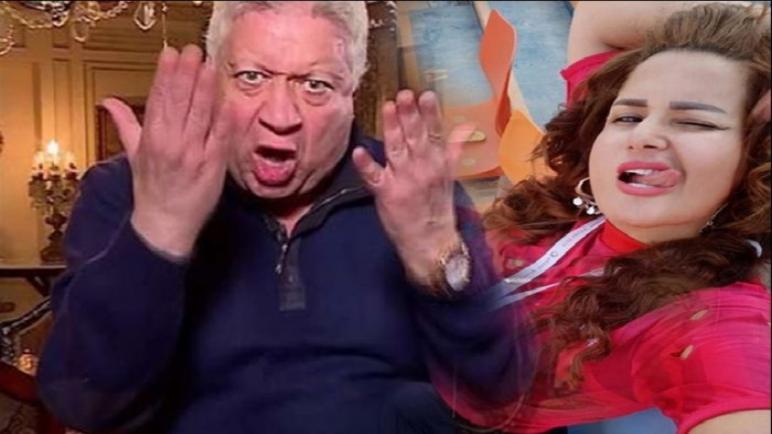 """مرتضى منصور لـ سما المصرى """" مطلعه لسانها تلحس"""" وسما ترد"""