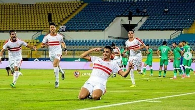 مصطفى محمد لاعب الزمالك يتعرض لحادث سير