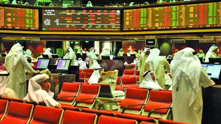 خسائر بالجملة في البورصة الخليجية